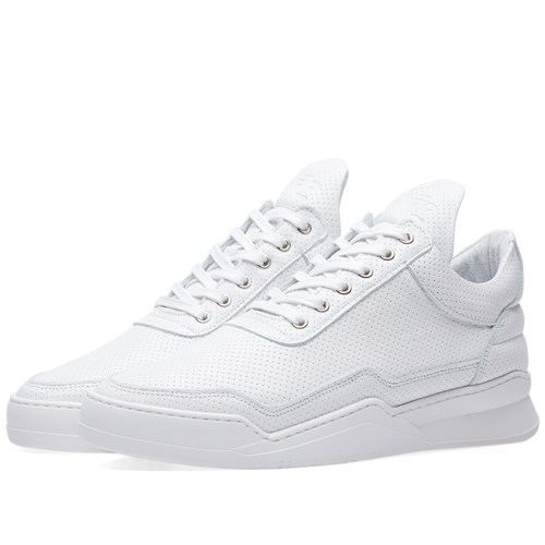 Filling Top Pieces White Low Sneaker rq7TnHrd