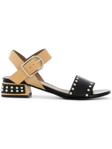 Sonia Rykiel Contrast Strap Sandals Nude And Neutrals bxFLU