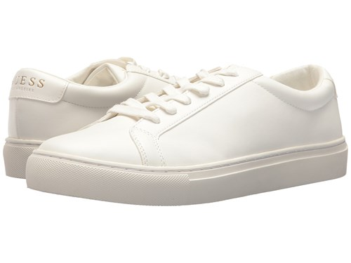 GUESS White Up Barette Casual Synthetic Lace Shoes z7rUnwzxq5
