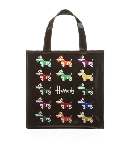 Small Shopper Harrods Bag Jack Westie Unisex Union g06Pqd6