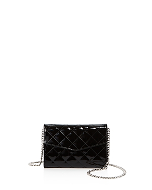 Street Level Patent Quilted Belt Bag 100 Exclusive Black Silver UY3pbXN