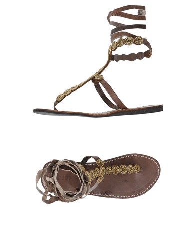 Toe LONDON Strap LAIDBACK Sandals Cocoa w8fFXyq5