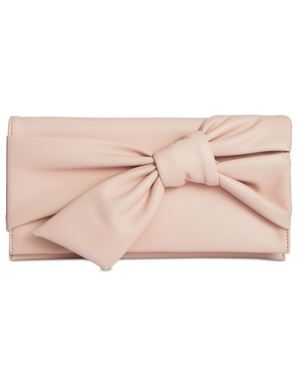 INC International Concepts Bowah Hands Through Clutch Created For Macy's Blush f2BEEleFk
