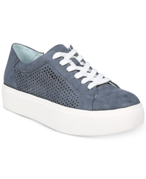 Dr. Scholl's Kinney Lace Up Sneakers Women's Shoes Blue eBKiX1OfQE