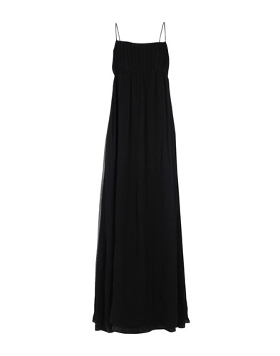 LUNA BI Long Dresses Black 6jcbyutI