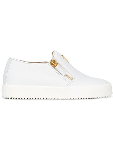 Giuseppe Zanotti Design Eve Slip On Sneakers White GfOTzcEI