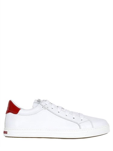 DSquared 10Mm Tennis Club Leather Sneakers DnYyqak