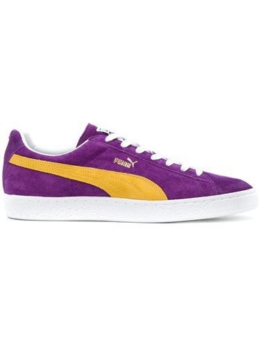 Up Lace Rubber Purple Suede Sneakers Polyamide Pink Puma RqvBwxZw