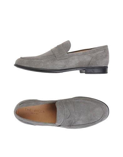 THE WILLA Loafers Grey JZoDH