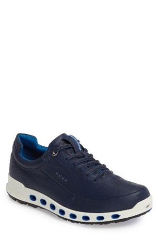 Ecco Men's Cool 2.0 Leather Gtx Sneaker Navy lXJeGmaT