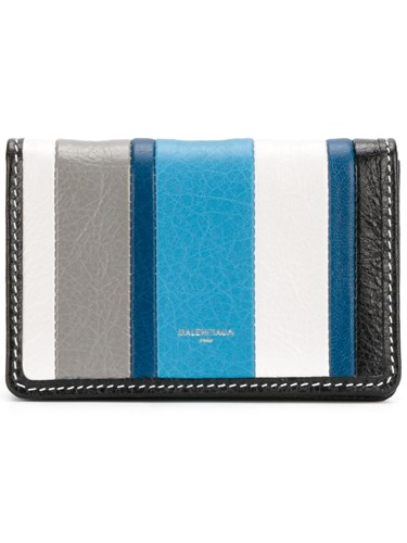 Balenciaga Bazar Card Case Leather Multicolour LXDRMhAapA