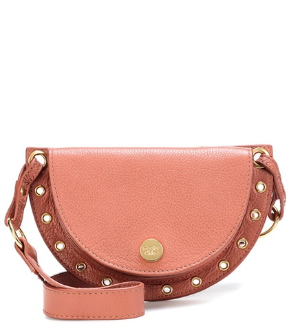 by Pink Small Leather See Crossbody Kriss Chloe zwRxOd4qO
