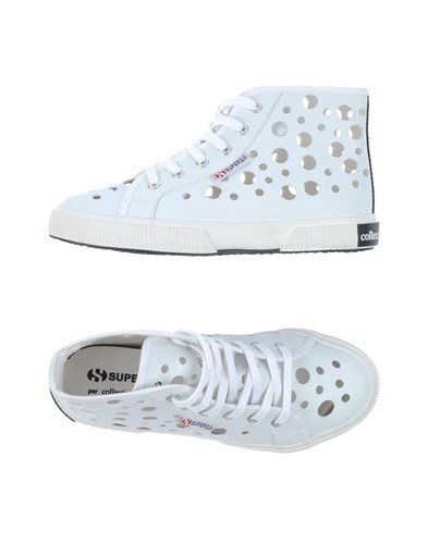 COLLECTION Women High Tops PRIVÈE FOR Trainers And Footwear Black SUPERGA AwqrA7F