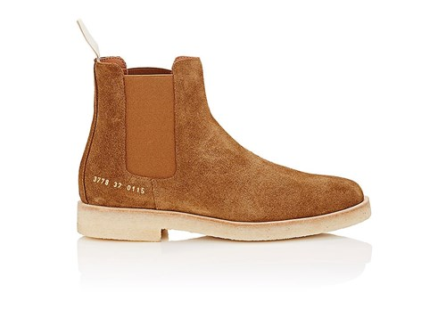 Chelsea Brown Tan Women's Suede Projects Common Boots 4z6O0nwqt