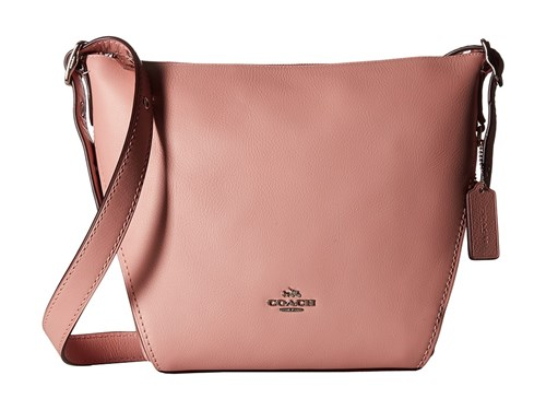 Coach Small Dufflette In Natural Calf Leather Sv Peony Handbags Red yYvt9g