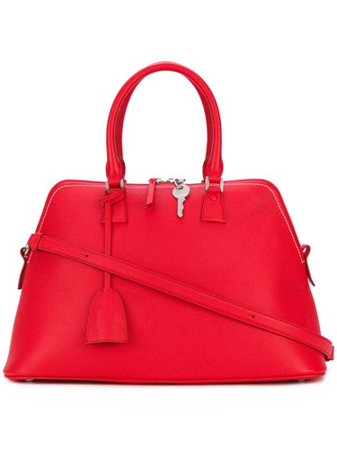 oversized tote - Red Maison Martin Margiela 4qwFt9t