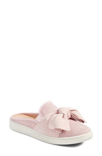 Luci Sneaker UGG Suede Seashell Bow Mule Pink PzzEnxq1wd