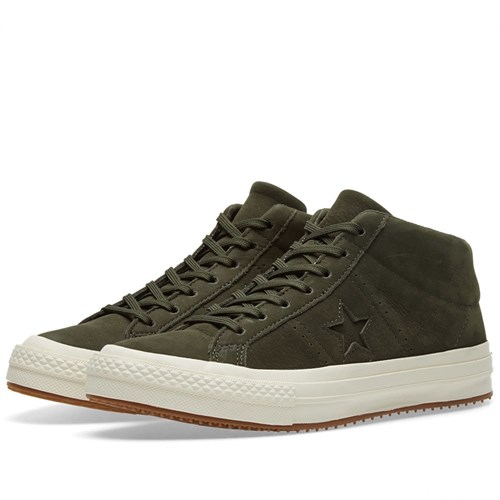 Converse One Star Counter Climate Mid Green m6578