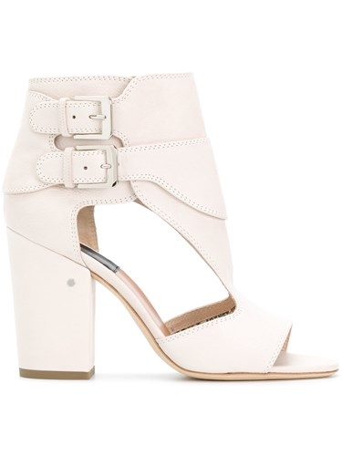 Laurence Dacade Side Buckle Sandals White RSA5N3s