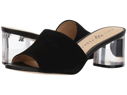 Katy Perry The Kaitlynn Black Suede Shoes 8mbFhh3O9