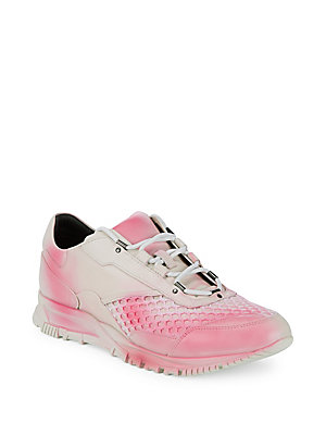 Lanvin Casual Round Toe Sneakers Pink 4JX4rEaq