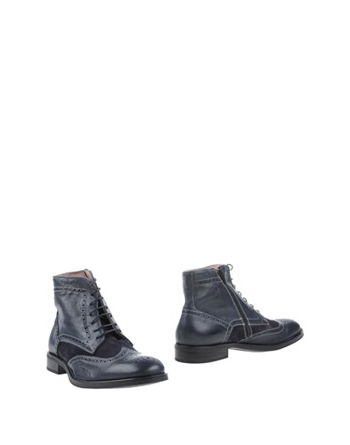 Gianfranco Lattanzi Ankle Boots Dark Blue TKYprS