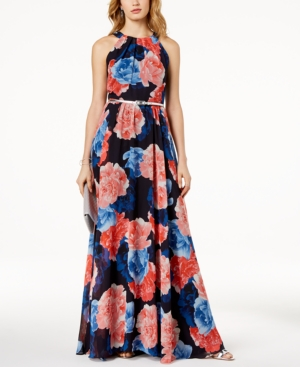 INC International Concepts I.N.C. Petite Floral Print Maxi Dress Created For Macy's Multi Floral Flo9Npwmt