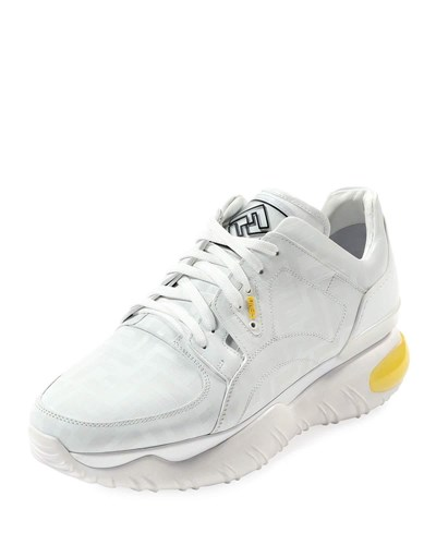 Fancy Chunky Photosensitive Color Changing Sneakers White