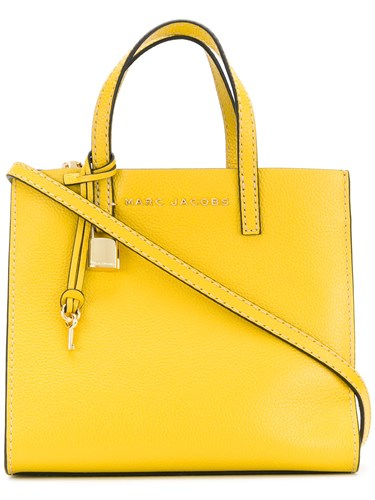 Marc Jacobs Small The Grind Shopper Tote Yellow And Orange 6OlkXbGW