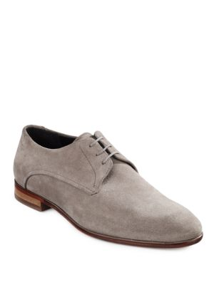 Polo Ralph Lauren Suede Derby Shoes Grey NwU7n
