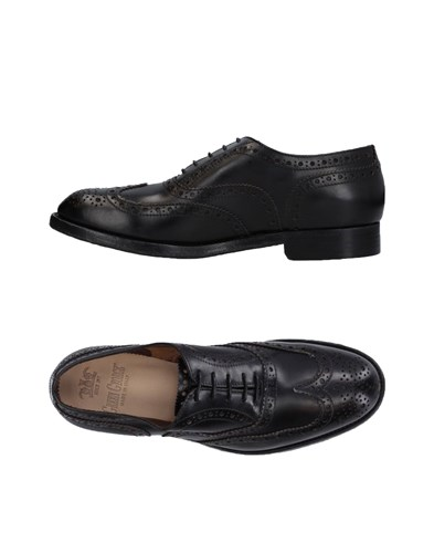 GREEN GEORGE Lace Up Shoes Black ihwhAtL