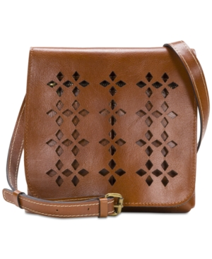 Patricia Nash Granada Small Crossbody Tan tRisAMZL
