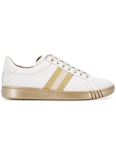 Sneakers White Bally Micro Micro Bally Perforated IwxaxqZ1