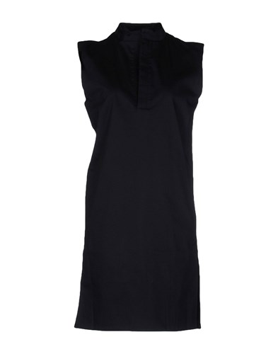 RAD by RAD HOURANI Short Dresses Dark Blue 8QaZvCaWu