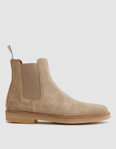 Suede Common Boot Tan Chelsea Projects In Uq0wnqzC