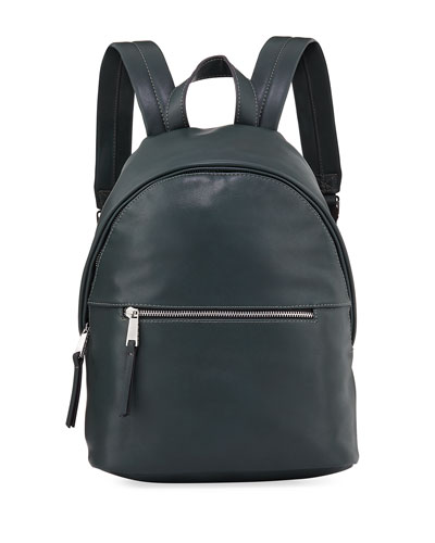Connection Green Jace French Leather Faux Backpack Anfq4dBqp