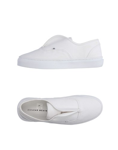 Clear Weather Sneakers White j6Ry6So