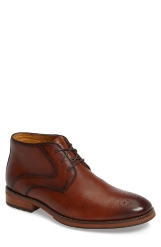 Florsheim Men's Blaze Chukka Boot Cognac Leather DScVG7H5