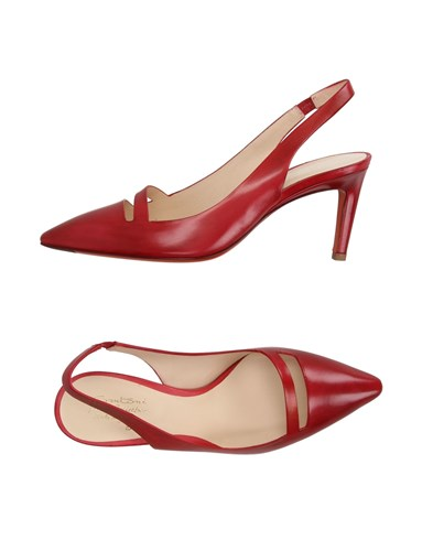 SANTONI ROSE Pumps Brick Red IxYmcOqDk