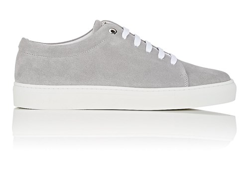 London Swear Men's Sneakers Suede Vyner Grey rrc7dwxqW