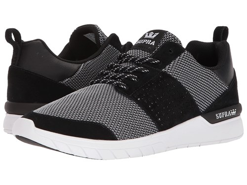 Supra Scissor Black White White Skate Shoes UgAQ6nt