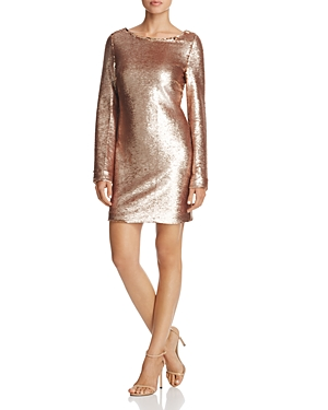 Sequin Champagne Tresor Blush Elliatt Dress A5qfpHxC