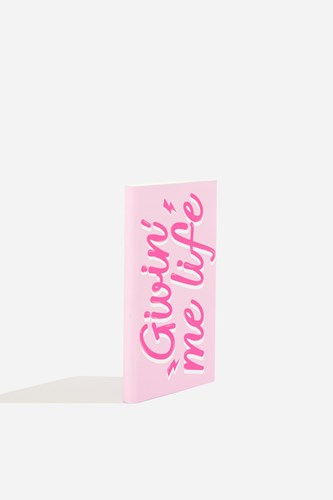 Pink Me Portable Life' Charger Skinnydip Topshop 'Givin By tfa50Fqnwx