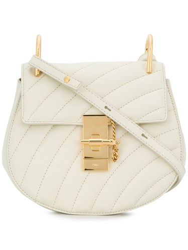 Drew White Chloé Bag Shoulder Quilted HqxPOv