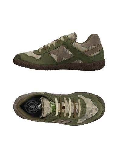 Military Munich Sneakers Green Sneakers Munich 4qZn7BH