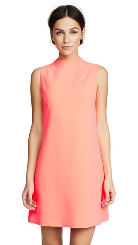 Coral A Neon Olivia Dress Alice Line Coley Ba0Yx