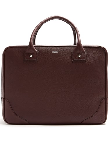 Holdall Grained 1985 Leather Burgundy CONNOLLY w7gPUg