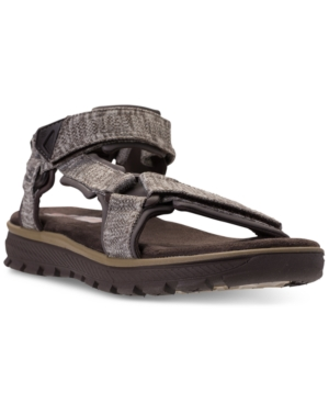 Fit Sandals Relaxed Chocolate Finish Reeve From Athletic Men's Line Mandro Skechers YEqSw