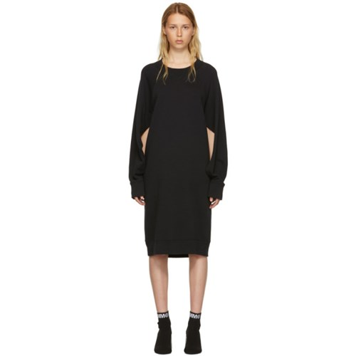 Cotton Mm6 Sweatshirt Basic Black Maison Margiela Dress Martin wXqn1a