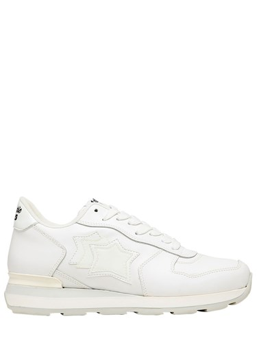 Atlantic Stars Vega Color Changing Leather Sneakers White Pink BgJEn8aE